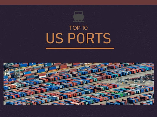 Top 10 ports in the US