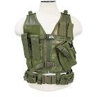 NcStar Vism Children's Tactical Vest, Green, S/XS