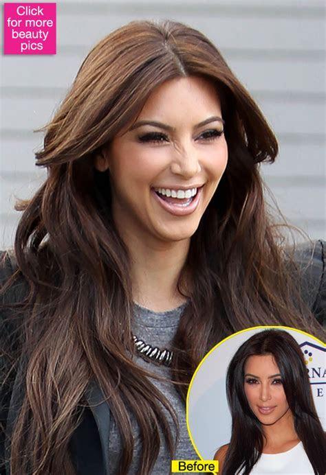 Kim Kardashian Has Much Lighter Hair! Is She Softening Up