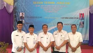 Serah Terima Jabatan Dalam Jabatan Administrator Dan Pengawas Dilingkungan Kecamatan Mauk
