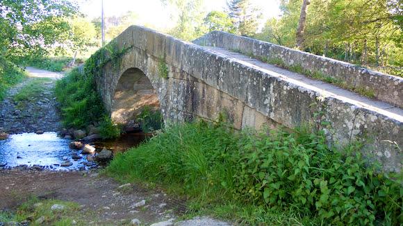 Puente Disicabo Galicia España, Camino de Santiago