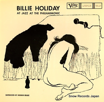 HOLIDAY, BILLIE billie holiday at jazz at the philharmonic