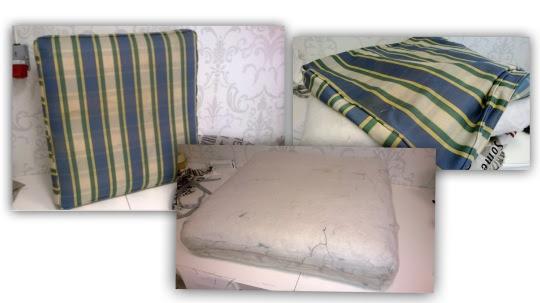 Vanha sohvatyyny