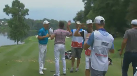 WATCH: Rickie Fowler makes walk-off hole-in-one to shoot 67