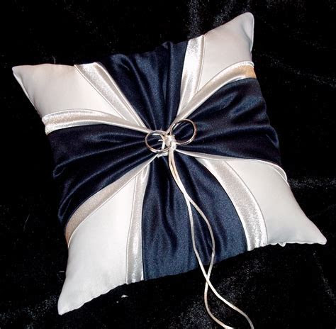 Navy Blue And Silver White or Ivory Wedding by