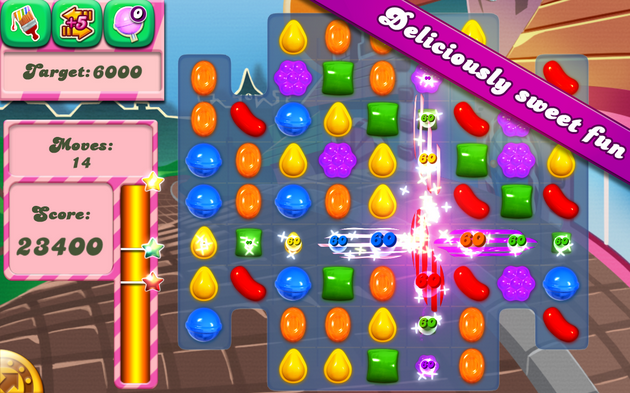 Candy Crush Saga latest version [Mod Unlimited Lives]