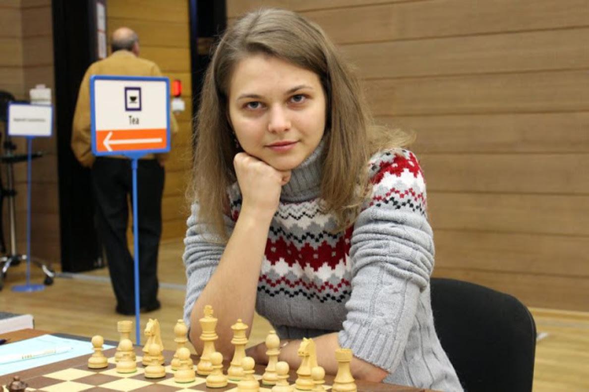 La ucraniana Anna Muzychuk.