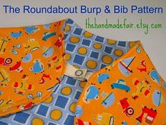 Roundabout Burp and Bib - thf