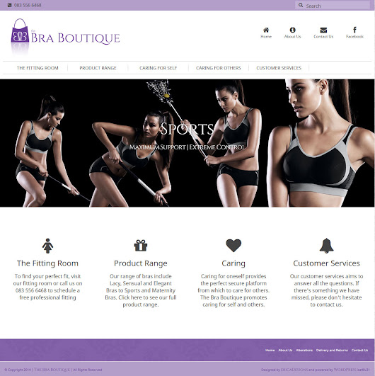 The Bra Boutique | ericaDesigns