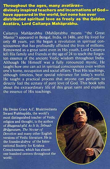 THE TEACHINGS OF LORD CAITANYA pdf