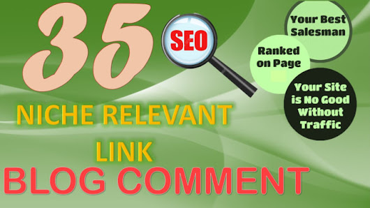 musmank96 : I will 35 high quality niche relevant blog comments backlinks with low obls for $5 on www.fiverr.com