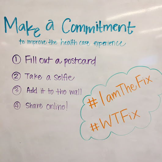#IAmTheFix Commitments (#WTFix) (with images, tweets) · HealthSparq