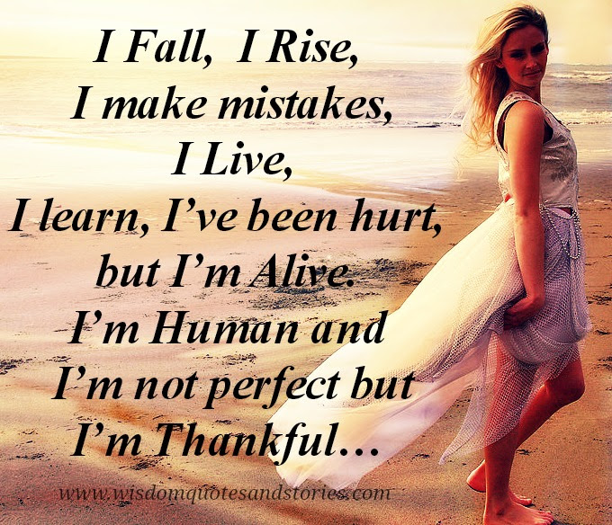 I Fall Rise Make Mistakes Wisdom Quotes Stories