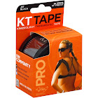 KT Tape Pro Tape, Kinesiology Therapeutic, Jet Black, 10 Inch Precut - 20 strips