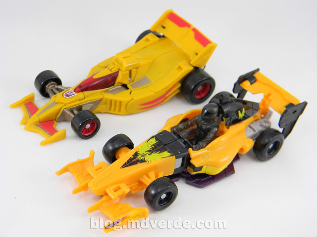 Transformers Drag Strip - Human Alliance Scout - Dark of the Moon - modo alterno vs Universe