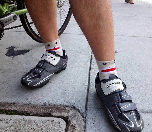 Sock monkey socks.