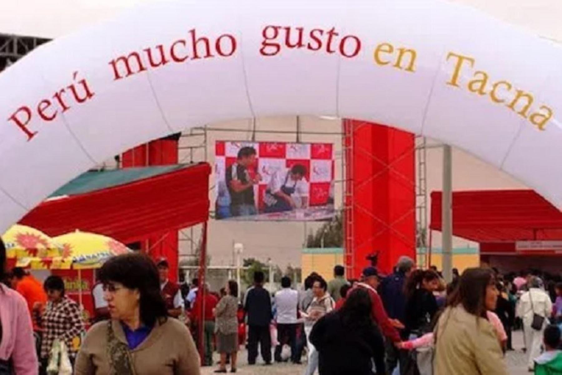 """""""Perú Mucho Gusto Tacna"""" ofrecerá al menos 62 platos por un monto cercano a los 600 mil soles."""