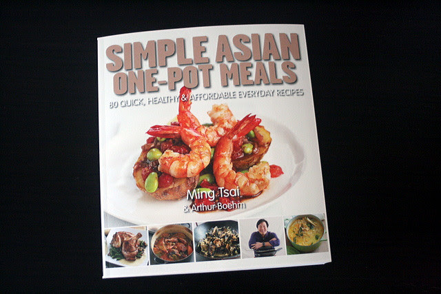 "Chef Ming Tsai's latest cookbook is ""Simple Asian One Pot Meals"""