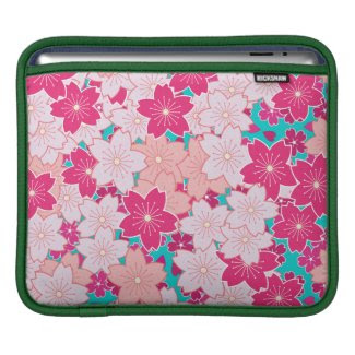 Cherry Blossoms Hanami Pop rickshaw_sleeve