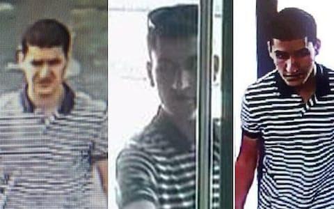 Image result for barcelona van attack suspect shot dead