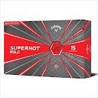 Callaway Superhot Bold Matte Golf Balls, Red - 15 count