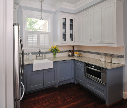 Shades of Neutral} Gray & White Kitchens -- Choosing Cabinet ...