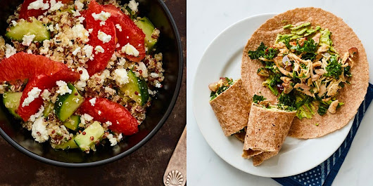 7 Easy, Healthy Lunches You Should Cook This Week | SELF
