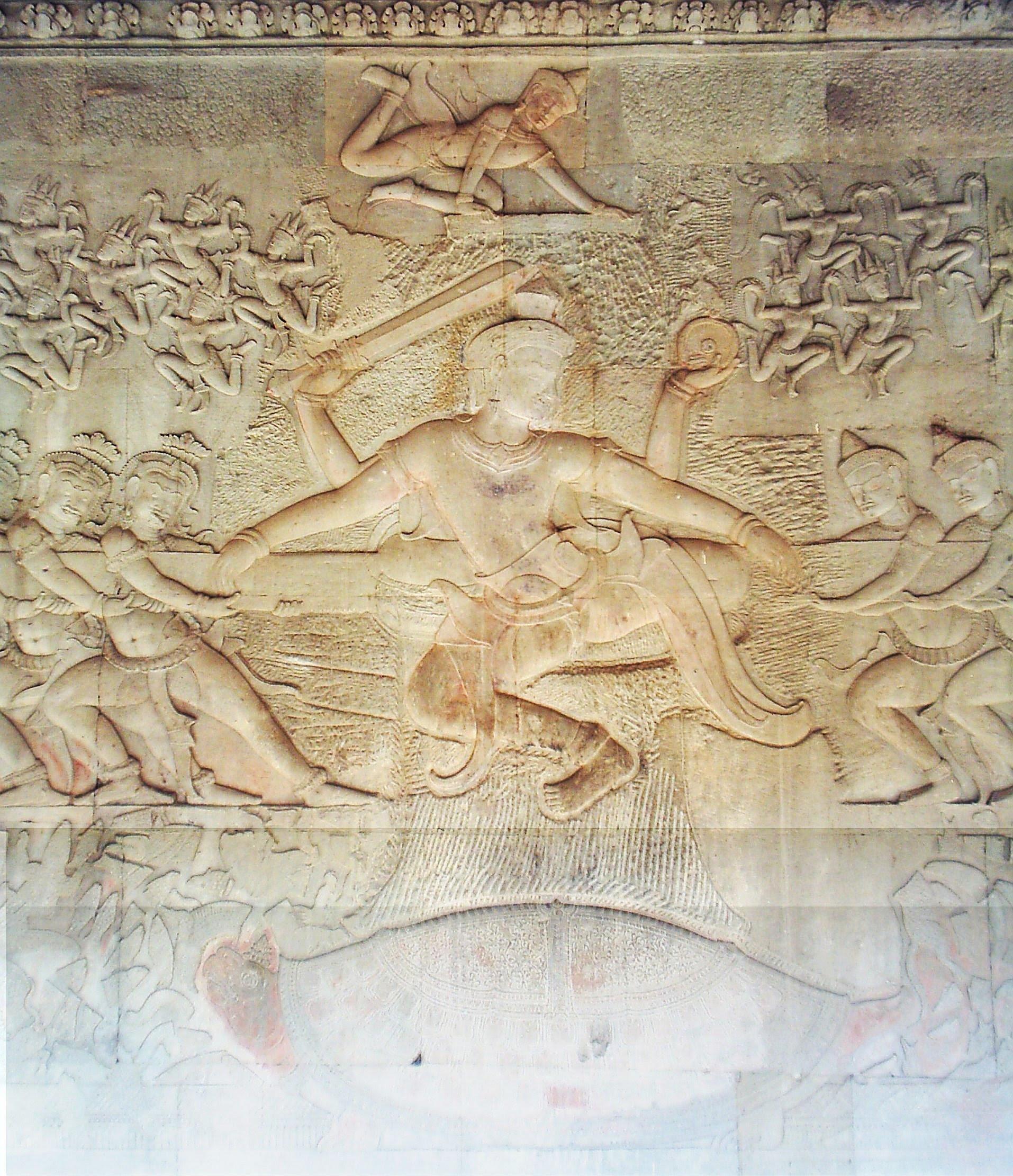 King Suryavaraman's procession