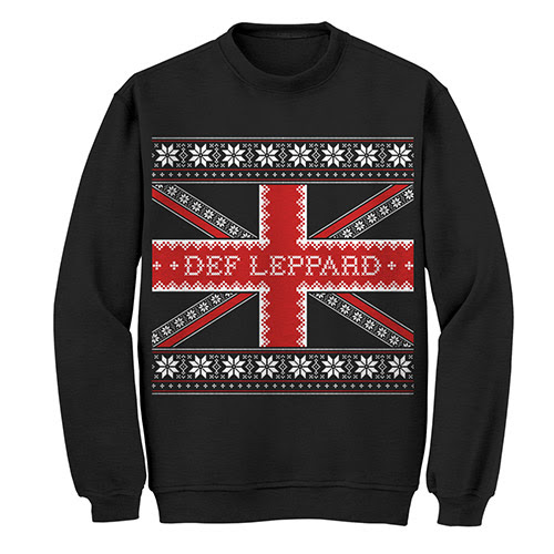 Def Leppard Official Store | Ugly Christmas Crewneck Sweat