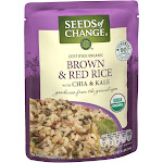 Seeds of Change Organic Brown & Red Rice with Chia & Kale - 8.5oz