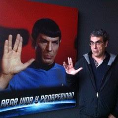 Mr Spock y Mr @blogpocket