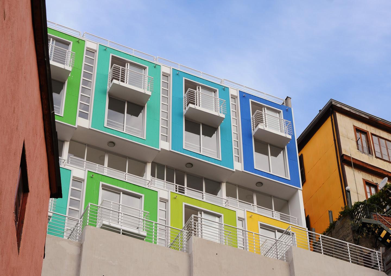 Lofts Yungay, arquitectura, casas