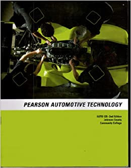 """Pearson Automotive Technology (For the class """"Auto 125 ..."""