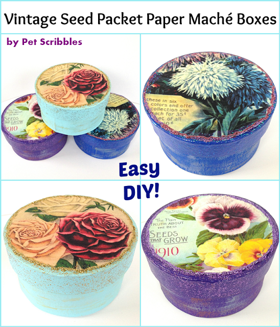 Vintage+Seed+Packet+Paper+Maché+Boxes+DIY-1