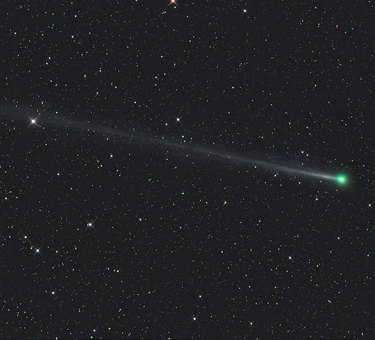 Comet's Trip Past Earth Offers First in a Trio of Opportunities