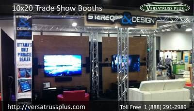 10x20 Trade Show Booths and Truss Displays | VersaTruss Plus