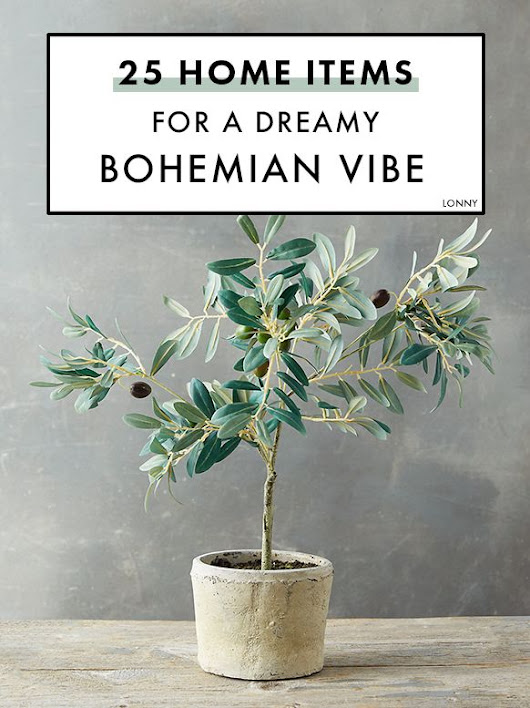 Vintage Decor: Create a dreamy bohemian vibe at home with these fun items that are all under $2... - Vintage.tn | Leading Vintage Magazine, featuring best Vintage Inspiration, retro ideas and Rare Historical Photos