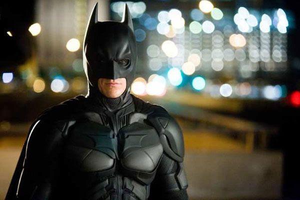Christian Bale as the Dark Knight, in THE DARK KNIGHT.