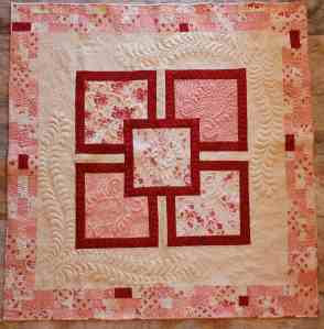 longarm quilting feather motifs