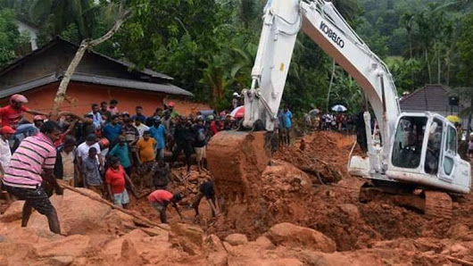 Toll in Sri Lanka floods increases to 100