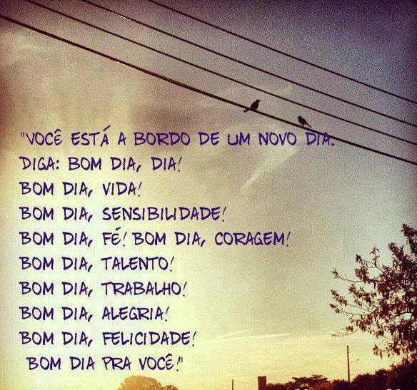 Bom Dia Imagens Para Facebook E Blogs