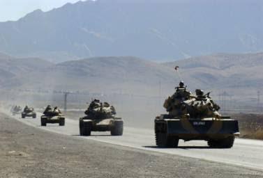 άρματα μάχης προς την Συρία
