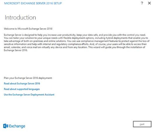 Deploying Exchange Server 2016 (Part 2)