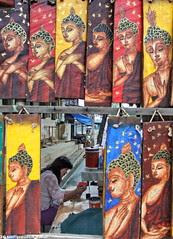 Buddha painting II by Paulo Kawai