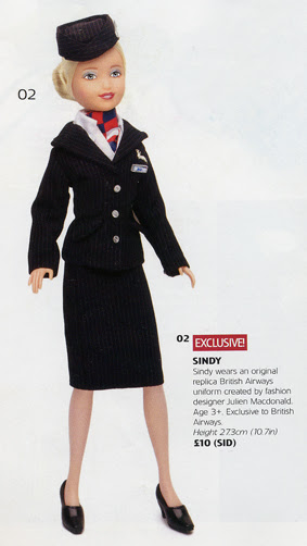 British Airways Sindy Doll 2005