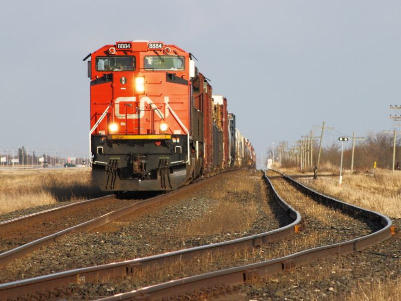 CN 8884 in Winnipeg