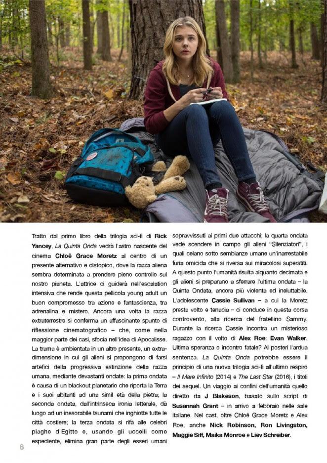 Chloe Moretz: NewsCinema Magazine 2016 -03