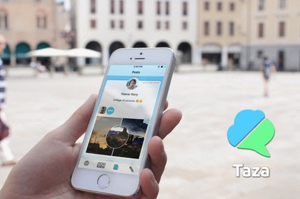 Taza: Save your data with group messaging