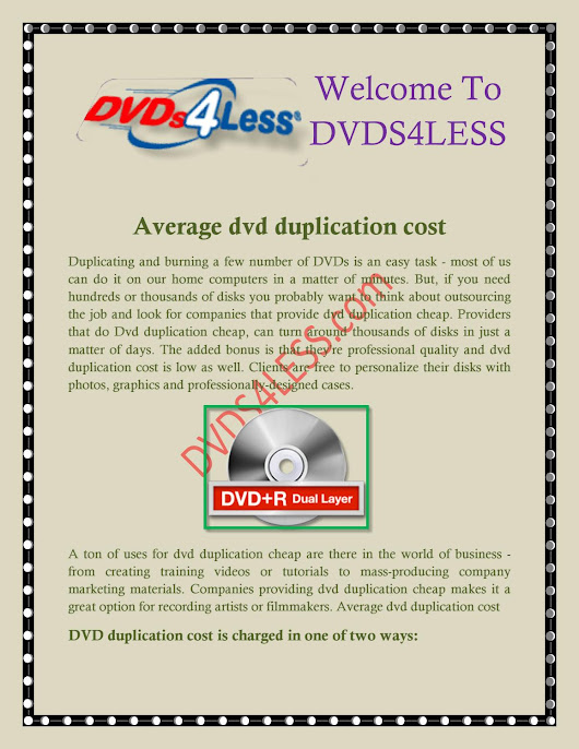 dvd duplication and printing, dvd duplication services - dvds4less.com