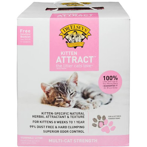Dr. Elsey's Precious Kitten Attract Cat Litter, 20 lb